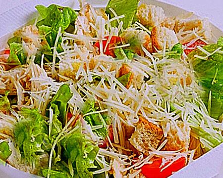 Приготовление салата Цезарь: пошаговые рецепты с фото