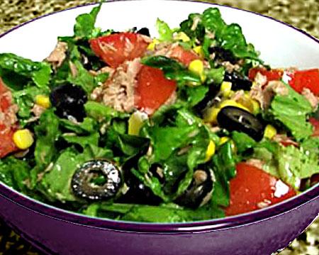 салат из тунца классический рецепт с кукурузой